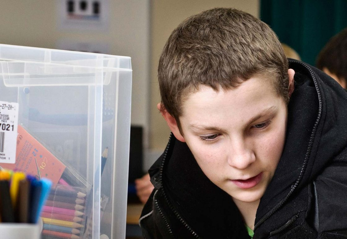 A photo of a young boy in the UK Youth programme - An Ellis Campbell Foundation charitable grant