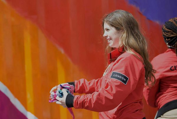 Smiling female volunteer - Ellis Campbell Foundation City Year UK Training Programme Grant