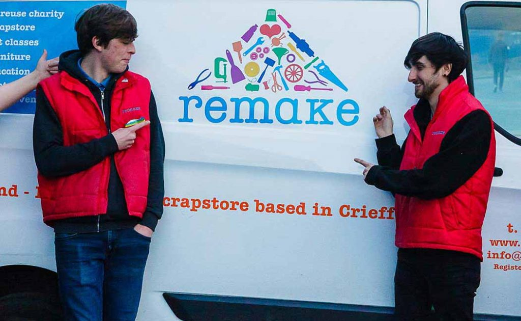 The Ellis Campbell Foundation Support Remake Futures Project Crieff