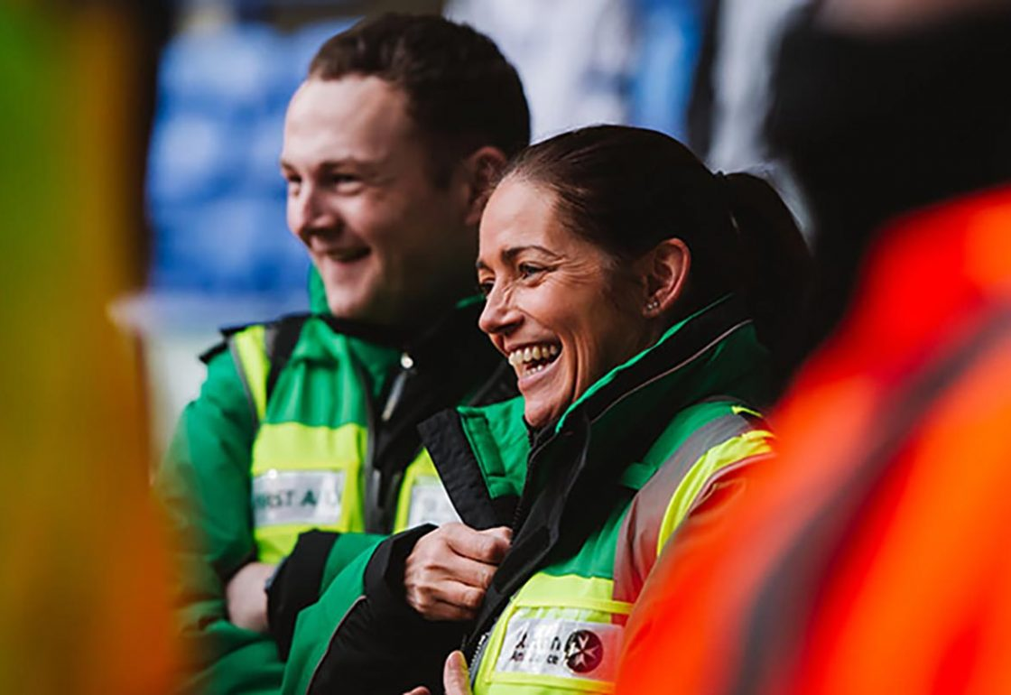 St Johns Ambulance Supported by The Ellis Campbell Foundation