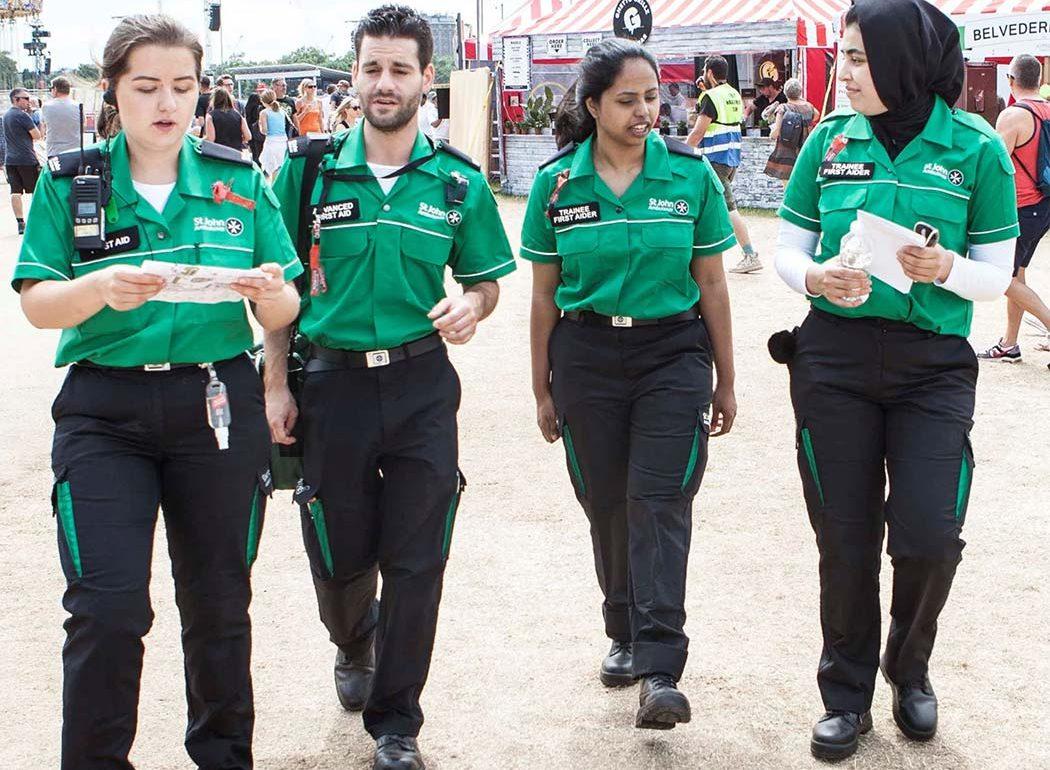 The Ellis Campbell Foundation supports St Johns Ambulance